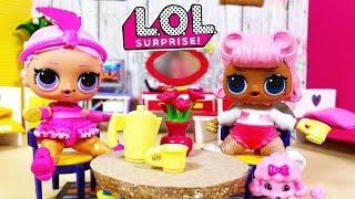 Poupées LOL Surprise Confetti Pop - Chambre Poupée - Histoires de Poupées - Show baby invite Angel