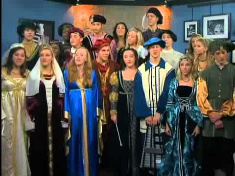 Danville High School Madrigals Holiday Performance