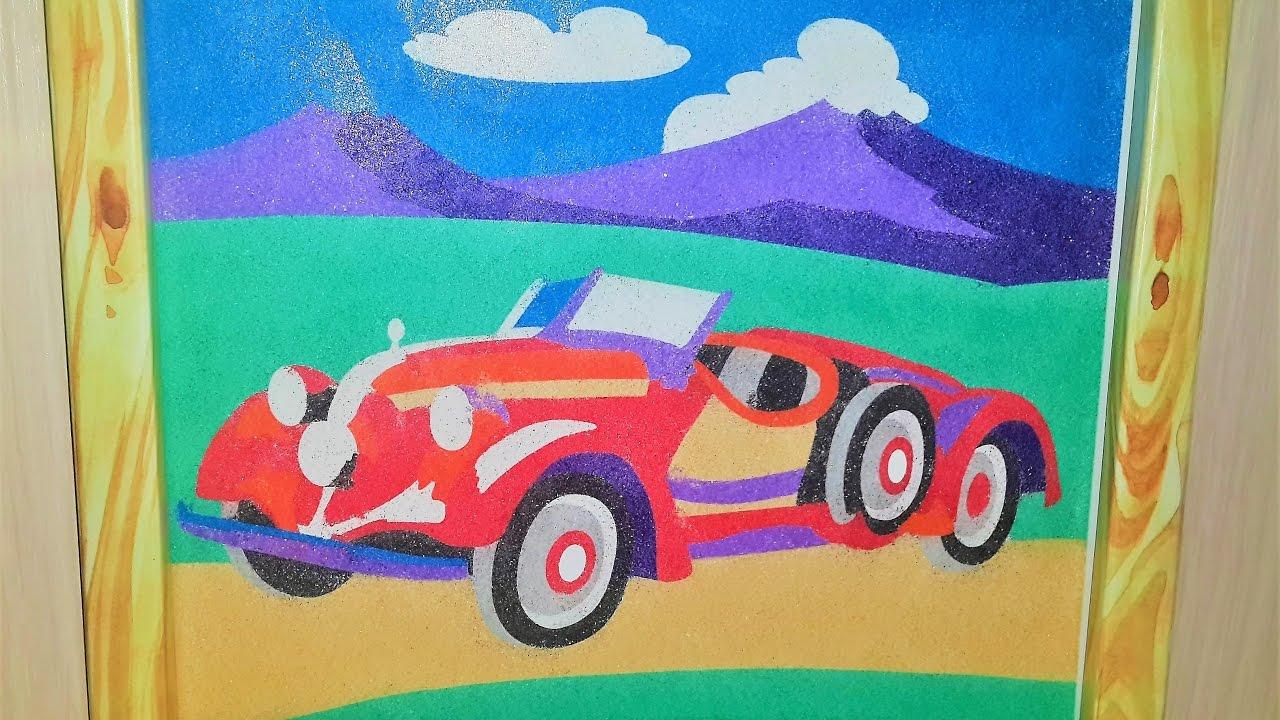 Картина из цветного песка своими руками 324