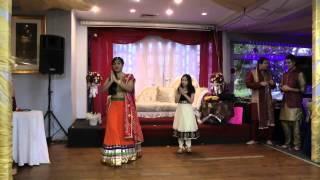 Kristelle and Ananya Dancing at Angel's Mehndi 2015