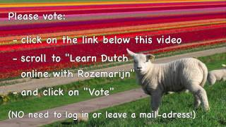 In top 100 best language YouTb-channel 2014!! Voting is closed.
