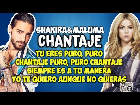 Letra :: VideoLike Shakira Chantaje