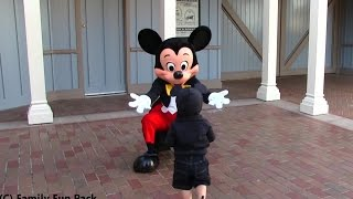 SO CUTE Baby Michael Meets Mickey for the First Time