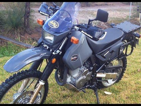 My Suzuki DR650 Mods