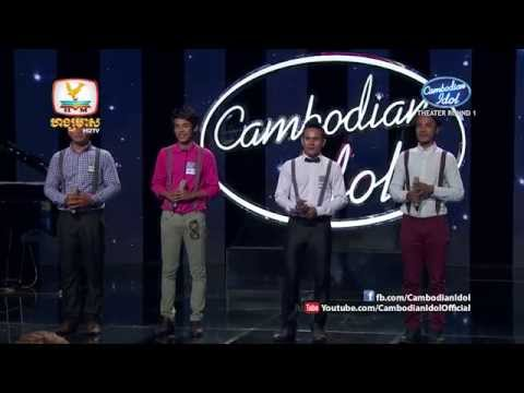 Cambodian Idol | Theater Round 1 | Group 1