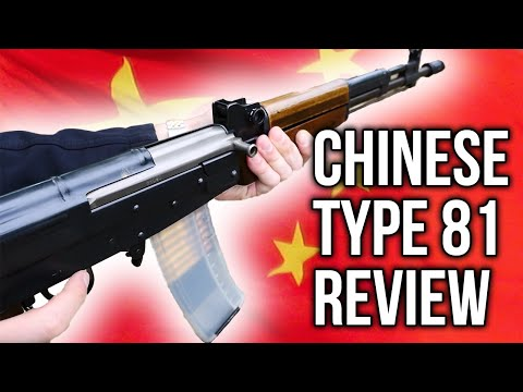Chinese Type 81 Shooting (Not Quite An AK, SKS, or SVD)