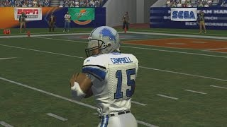 ESPN NFL 2K5 LIONS FRANCHISE  WEEK 1VS BEARS  SEASON 1