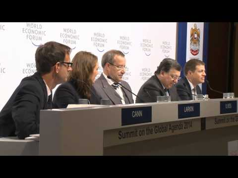 Dubai 2014 - Press Conference on Outlook on the Global Agenda