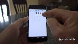 Evernote for Android: handwriting first look