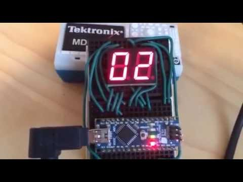 Arduino Based 60 Second Count Up Timer