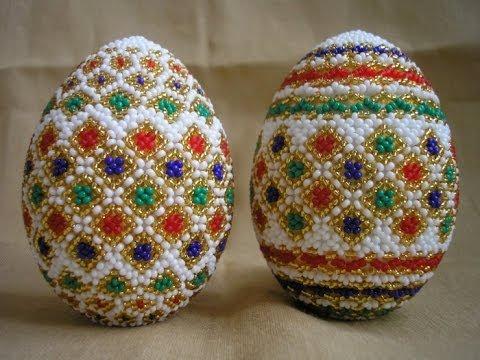 Декоративные яйца на пасху.