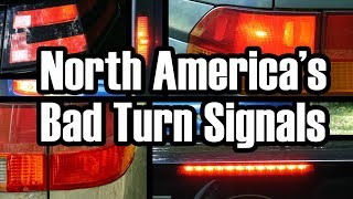 The Senseless Ambiguity of North American Turn Signals