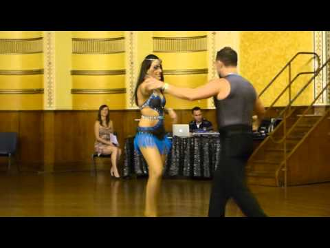 2015 Australian Bachata Championship - Professional Freestyle - Nestor and Rebecca