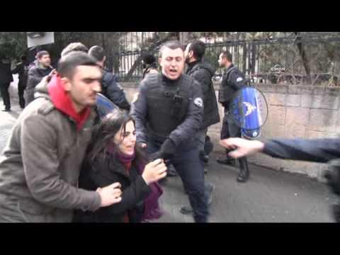 Ankara Üniversitesi'nde polis müdahalesi