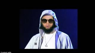 Hojor rapping in Arabic