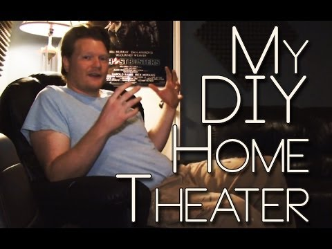 DIY Home Theater Tour