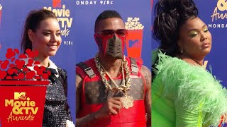 BEST of Red Carpet Ft. Aubrey Plaza, Nick Cannon, Lizzo & More! | 2019 MTV Movie & TV Awards
