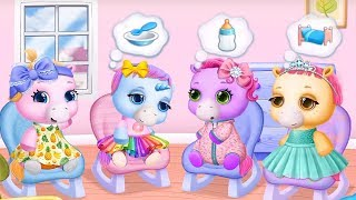 Pony Sisters Baby Horse Care 🤗 Babysitter Daycare ⭐️Cute game for kids