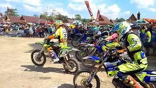 Kejurda seri 1 grastrack & motocros bersama Happymart Peranap