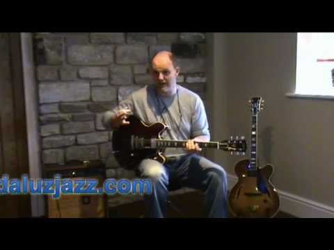 jazz guitar lesson part 6 w/ Mike Walker
