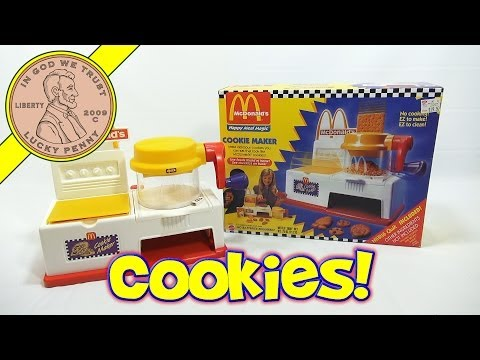 McDonald's Happy Meal Magic Cookie Maker Set. 1993 Mattel Toys (Fun Recipes)