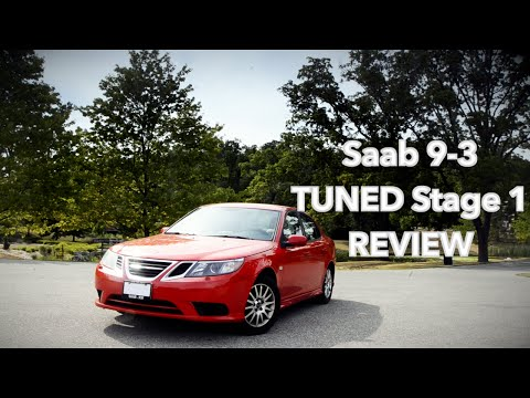 Saab 9-3 Stage 1 TUNED review.