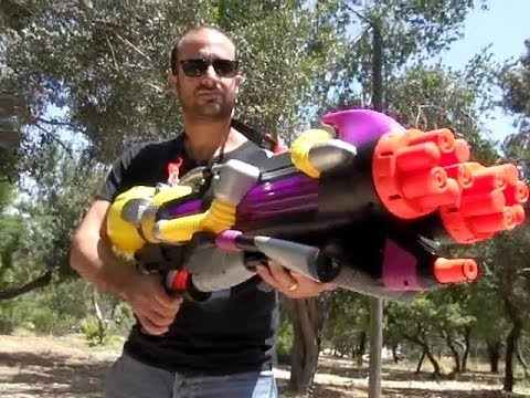 Best Water gun ever! Top 7 Nerf Super Soakers | Hasbro Nerf Gun Killer | Wasserpistole | 水鉄砲