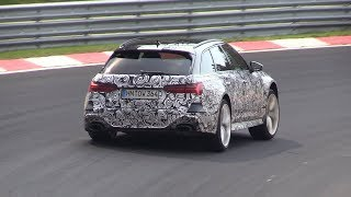 2020 Audi RS6 C8 Avant - Exhaust SOUNDS On The Nurburgring!