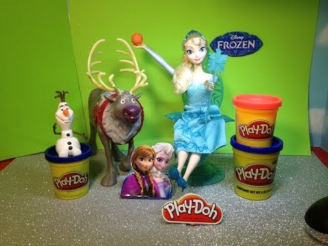 Play Doh Disney Movie Frozen How to Make Elsa Golden Orb Play Doh Frozen Playset Toy