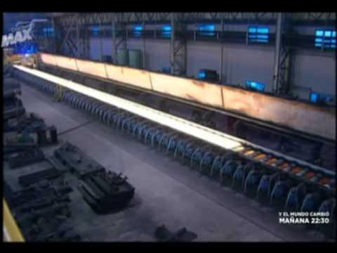 C mo se fabrica el acero youtube for Como se fabrica el marmol