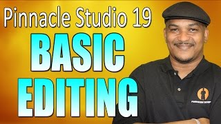 Pinnacle Studio 19 Ultimate - Basic Editing Beginners Tutorial