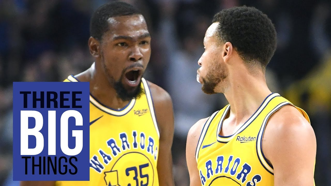 3 Big Things: Stephen Curry, Kevin Durant and the new NBA normal
