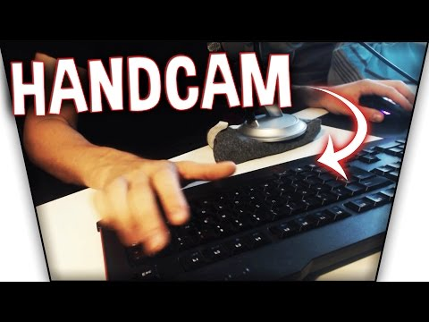 HANDCAM!!! - SkyWars + QuickBedWars!