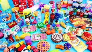 100+ Miniature Doll Stuff Collection #4- Handmade Miniatures and Doll Food Miniature Stuff