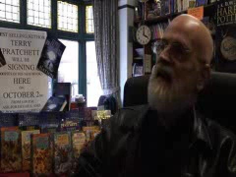 Terry Pratchett's visit to Southport