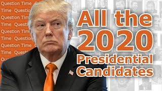 All the 2020 Election Presidential Candidates | QT Politics