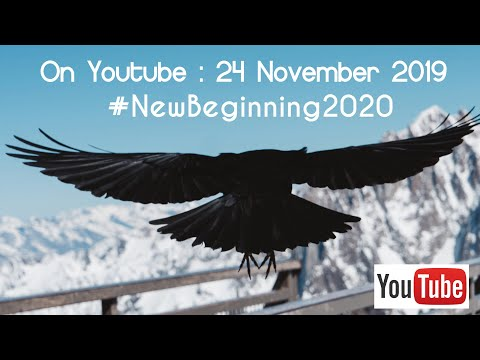 New Beginning 2020 Live Event Announcement - November 24, 2019!