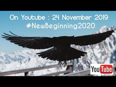 New Beginning 2020 Live Event Announcement - November 24, 2019!