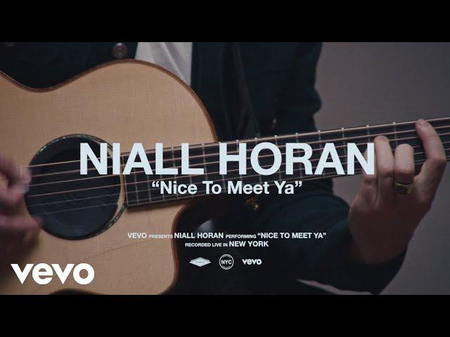 Niall Horan - Nice To Meet Ya (Live Performance)   Vevo thumbnail