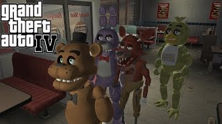 GTA IV - Five Nights at Freddy's Pack [Mod]