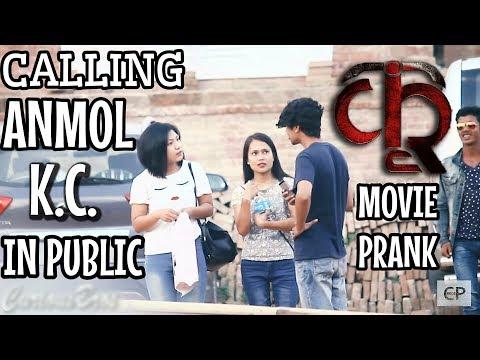 Nepali Prank-Calling Anmol K.C.|KRI Movie shoot Prank|Comment trolling|