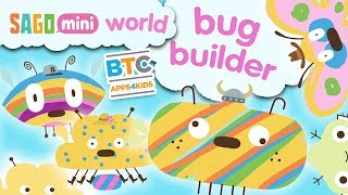 Sago Mini Bug Builder App for Kids