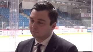 Haastattelussa / Intervju Joakim Strand