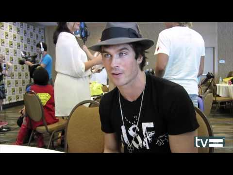 Ian Somerhalder Interview - The Vampire Diaries Season 6 video