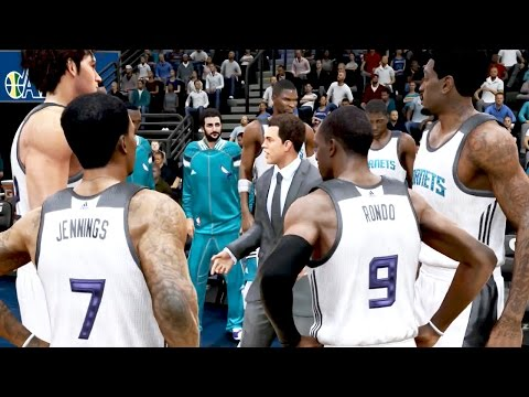 NBA Live 15 Ultimate Team Gameplay - 1st RAGE QUIT! Jennings Jumper on Point