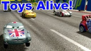 Cars 2: The video Game - Finn Union Jack - Buckingham Sprint Race
