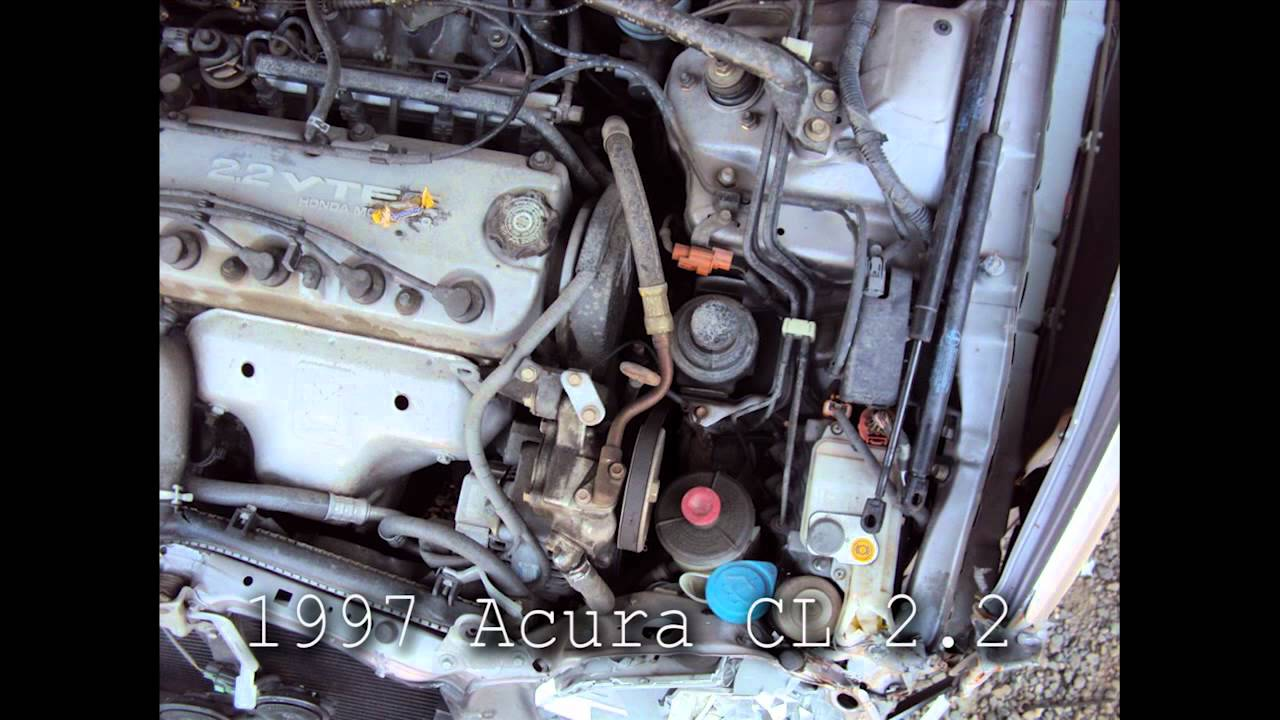 1997 Acura CL 2.2 parts AUTO WRECKERS RECYCLERS ahparts ...