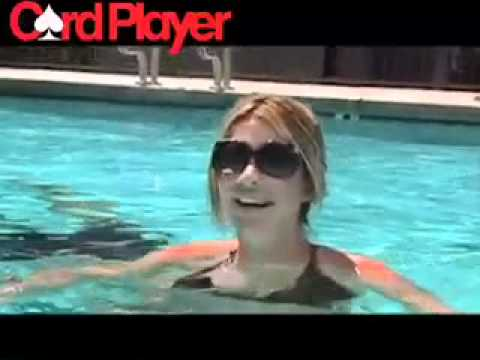 Christina Lindley's WSOP Video Blog -- Hittin' The Pool