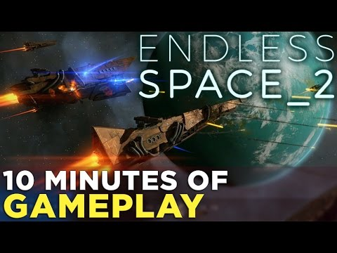 Endless Space 2 GAMEPLAY — Combat, Strategy & Planetary Management
