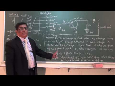 XII_81.Semiconductor Transistor as Amplifier  (2013).mp4